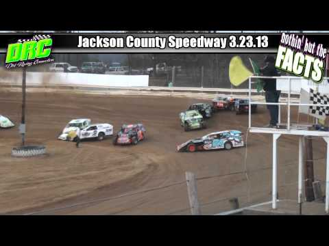 Nothing but the FACTS :: Jackson County Speedway :: Evans/McWilliams :: 3.23.13