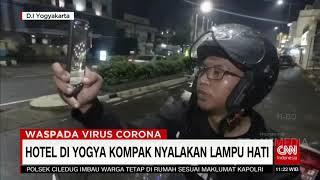 Unik! Hotel Di Jogja Kompak Nyalakan Lampu Berbentuk Hati   COVID UPDATE (6/4/20)