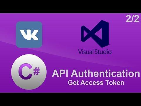 C# - VKontakte/Вконтакте API - Authentication - #2