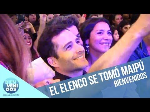 Actores de Soltera Otra Vez 3 la rompieron en Maipú | Bienvenidos