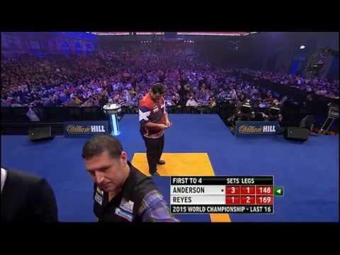 G. Anderson v Reyes | Last 16 | World Darts Championship 2015