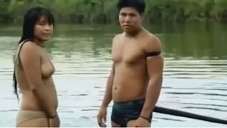 Download Video Yawalapiti Xingu  daily Life of Young Man And a Girl, Yawalapiti Women, Yawalapiti girls in Brazil MP3 3GP MP4