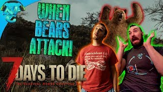 When Bears Attack and Very Unfortunate Events!  7 Days to Die E24