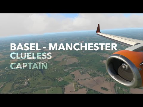 (X-Plane 11) Basel to Manchester | Boeing 737-300!