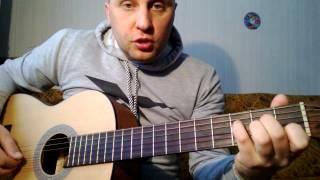 Самая простая мелодия на гитаре. Урок(Уроки гитары по Skype.Индивидуальный подход к каждому ученику.Уроки гитары с нуля.Все стили и направления..., 2014-03-12T16:42:44.000Z)