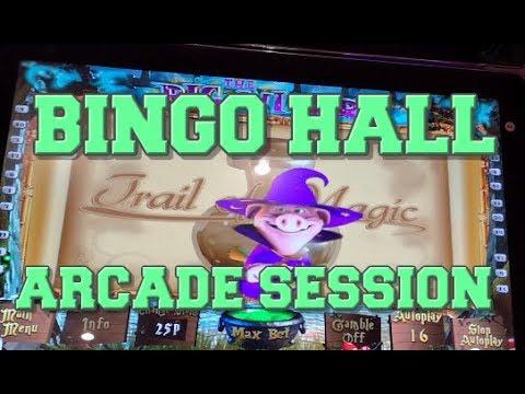 Bingo Hall Arcade Session With Some Nice Wins! (Fruit Machines)