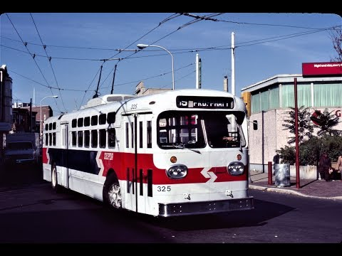 Philadelphia -- Rt 59 Trackless Trolley with TC-49 Marmon He