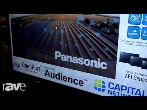 E4 AV Tour: Panasonic Highlights the LFE8 Series of Flat Panel Displays