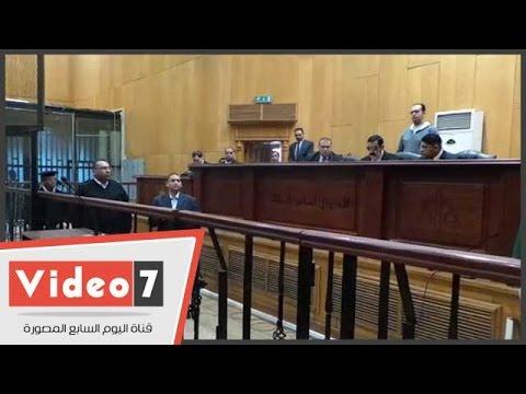 اليوم السابع : تأجيل محاكمة 11 متهماً فى أحداث عنف منشأة القناطر لـ22 ديسمبر المقبل