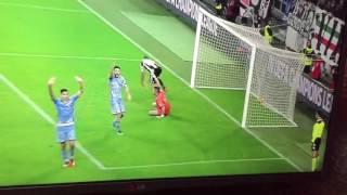 Juventus sampdoria 4-1 gol chiellini