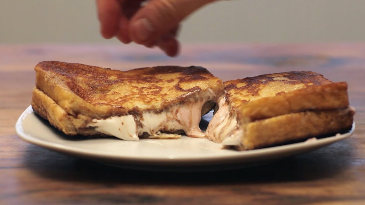 Nutella Marshmallow French Toast - YouTube