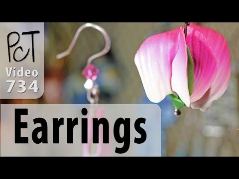Polymer Clay Earrings - A Million and One Design Ideas