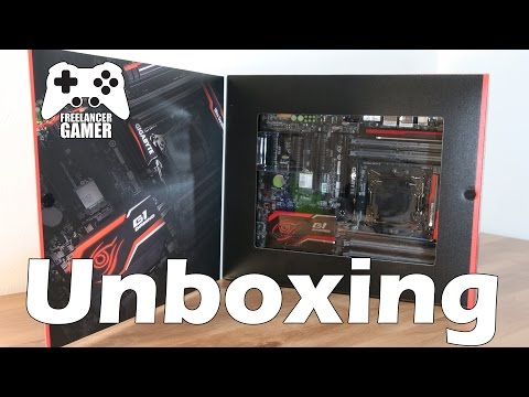 Unboxing GIGABYTE X99-Gaming G1 WiFi Motherboard