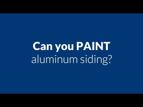 Can you paint aluminum siding   Parma OH