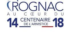 ROGNAC : commémorations du centenaire de l'armistice de la 1ère guerre mondiale