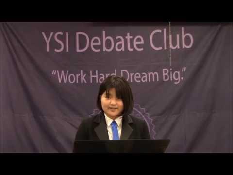 YSI 갤러리 - YSI Debate Class (September 7, 2018)