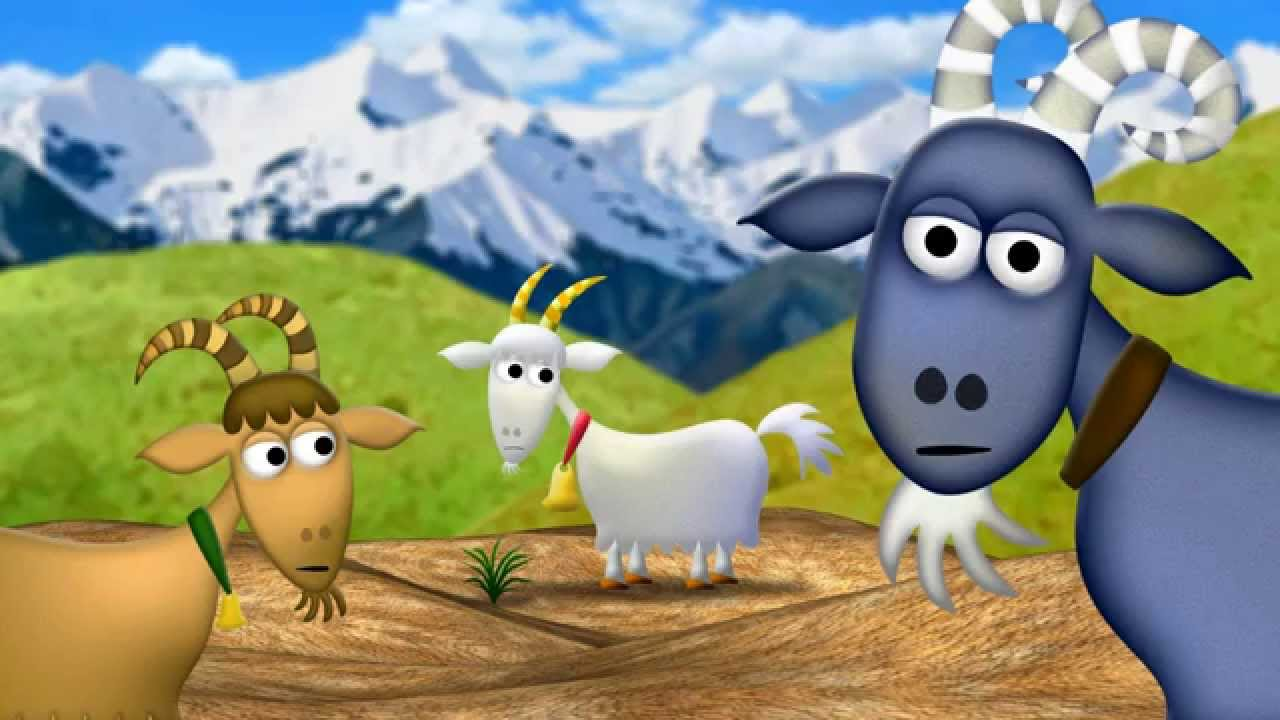 Worksheet Billy Goat Gruff the 3 billy goats gruff kidsout charity animation by neil whitman