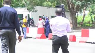 Oby Ezekwesili Attacked by Police in Abuja as she Protests Killings in Nigeria