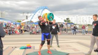 Дмитрий Касперович: не осталось сил на гантель в 80 килогамм
