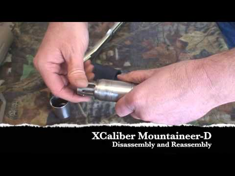 XCaliber Mountaineer D Disassembled