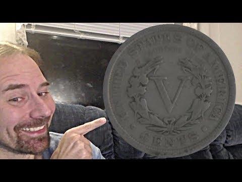 USA 5 Cents (Liberty Nickel) 1905 Rotating