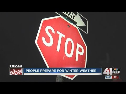 Things get icy as cold front mixes with precipitation in St. Joseph