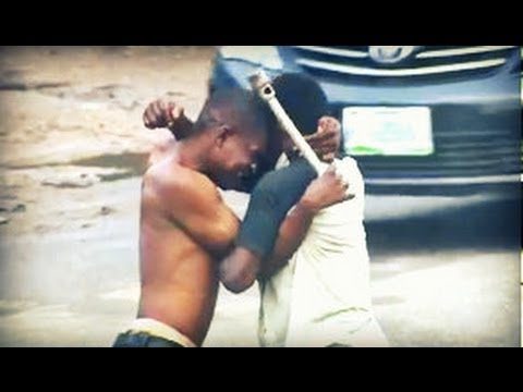 Step-by-Step of Lagos street fight! (Real-Life Nollywood Movies)