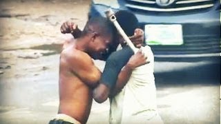 vuclip Step-by-Step of Lagos street fight! (Real-Life Nollywood Movies)