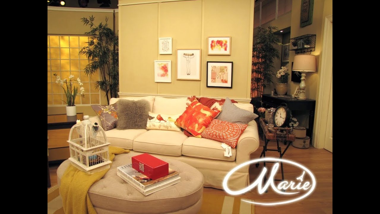 Home decor ideas w marie osmond alison deyette youtube for W home decor