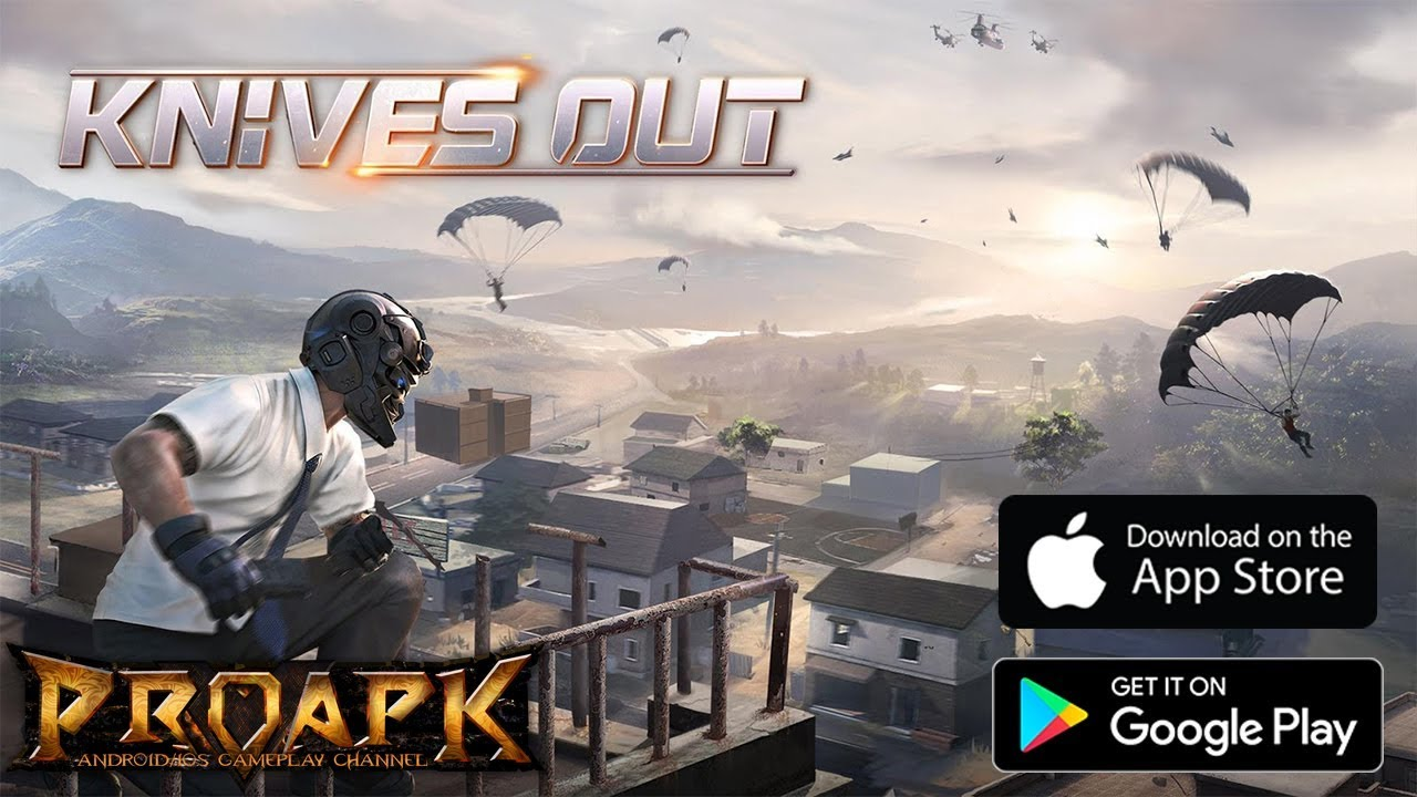 almost every Battle Royale games are similar in terms of gameplay. Knives out is also similar to PUBG, but it adds some unique locations which make the game a little bit different. The visuals of Knives Out is just amazing and the gameplay is quite similar and you need to survive in the battle in order to win the game. The game is also very popular on Google Play Store and its known for its graphics and smooth gameplay.