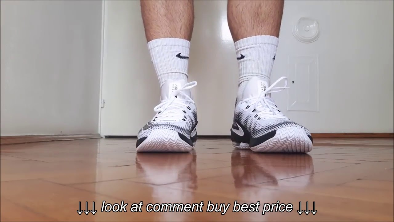 3fb513f42d5 Nike Air Max Infuriate Low White Review   On Feet - YouTube