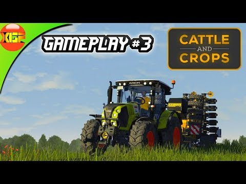 Cattle and Crops gameplay #3- To strike a bargain mission timelapse! cnc pc!