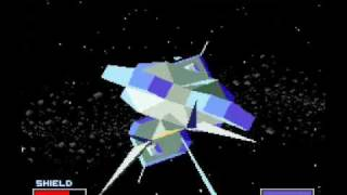 StarFox Asteroid Field