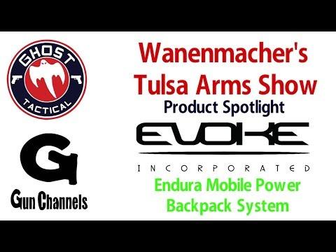 Wanenmacher's Tulsa Arms Show: Product Spotlight #1:  Evoke Tactical (Endura Mobile Power Backpack)