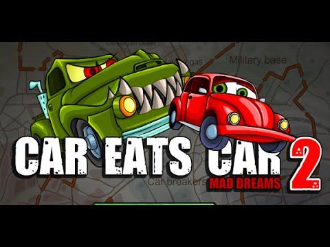 Car Eats Car 2: Mad Dreams Full Gameplay Walkthrough