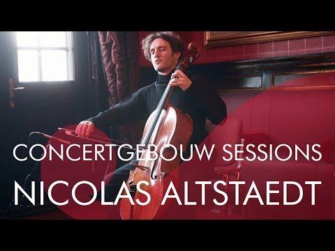 Nicolas Altstaedt - Courante uit Bach's 'Vijfde suite' - Concertgebouw Sessions