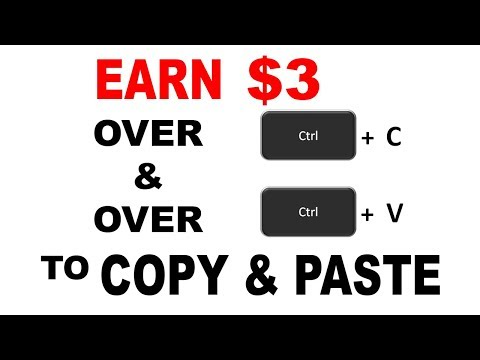 Earn $3 Over & Over TO COPY & PASTE! (Easy)
