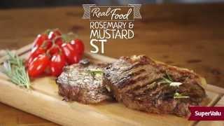 Rosemary and Mustard Steak