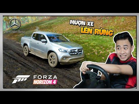 Trải Nghiệm Bán Tải Mercedes X-Class Lên Rừng | Forza Horizon 4