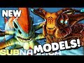 Subnautica - NEW SEA EMPEROR & REAPER LEVIATHAN MODELS, GHOST LEVIATHAN UPDATE & MORE ( Gameplay )