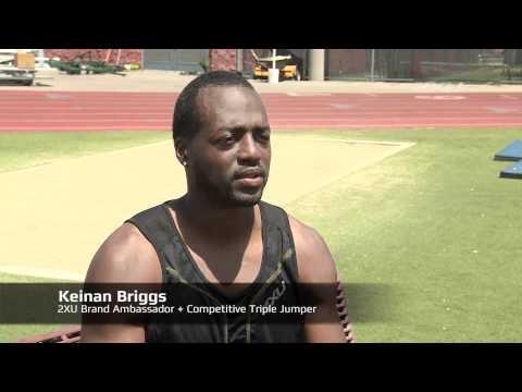 2XU Ambassador Interview - USA Triple Jumper Keinan Briggs