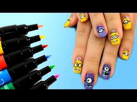 Маркер для рисования на ногтях