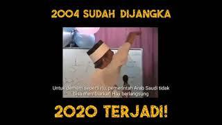 Ramalan 2004 sudah dijangka 2020 terjadi