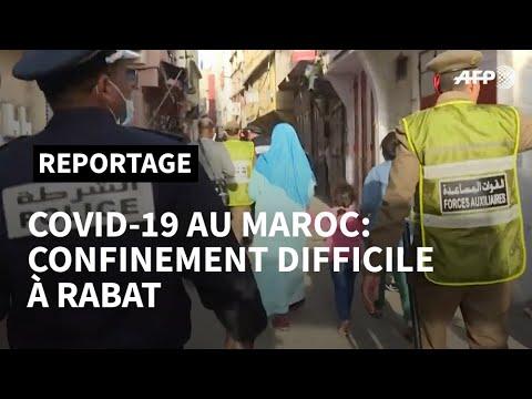 Coronavirus: A Rabat, des Marocains confinés dans la précarité   AFP Reportage