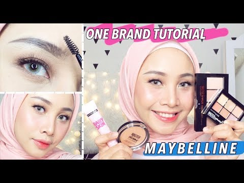 ONE BRAND MAKE UP TUTORIAL MAYBELLINE | DAILY MAKE UP TUTORIAL