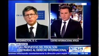 """""""Justicia transicional es un eufemismo para esconder una intención de impunidad"""": director de HRW"""