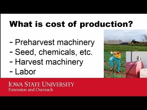 2016 Iowa Farmland Leasing - Cost of Production