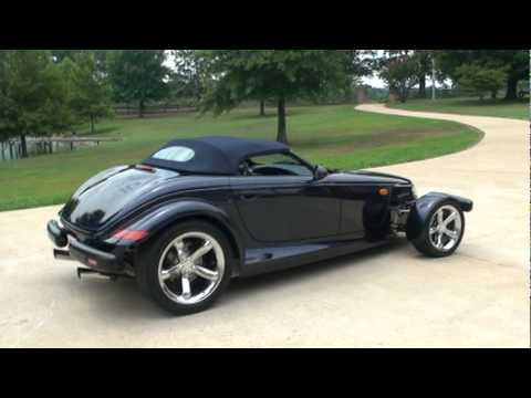 Sold 2001 Chrysler Prowler Mulholland Convertible For