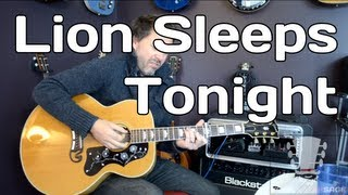the lion sleeps tonight chords Mp4 HD Video WapWon