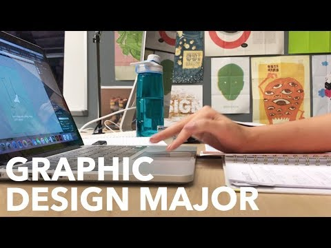 College Vlog + Advice | Graphic Design Major